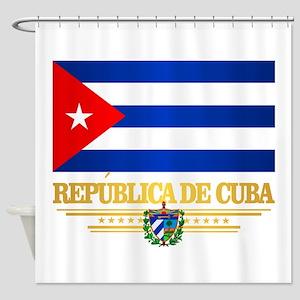 Cuba Shower Curtain