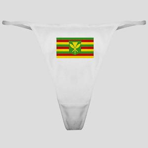 Kanaka Maoli Flag - Hawaiian Indepen Classic Thong