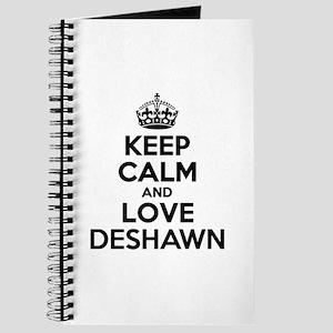 Keep Calm and Love DESHAWN Journal