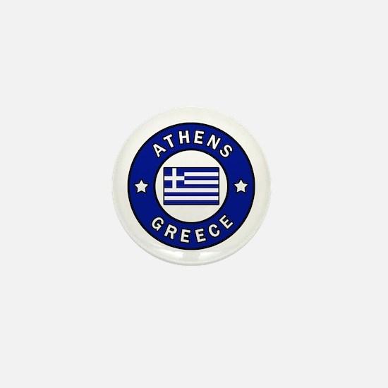 Cute I love greece Mini Button