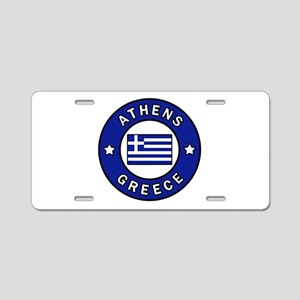 Athens Greece Aluminum License Plate