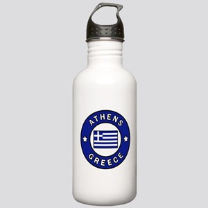 Athens Greece Stainless Water Bottle 1.0L