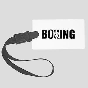 Boxing Large Luggage Tag