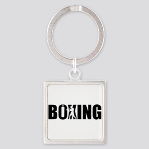 Boxing Square Keychain