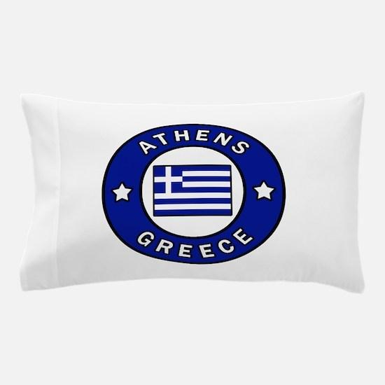 Athens Greece Pillow Case