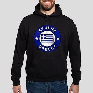 Athens Greece Hoodie (dark)