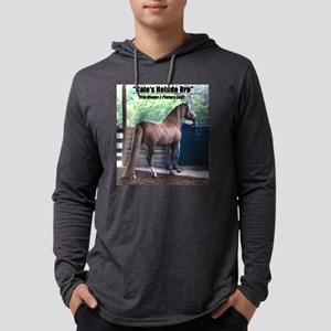 Men's Hooded Shirt With Cale's Long Sleeve