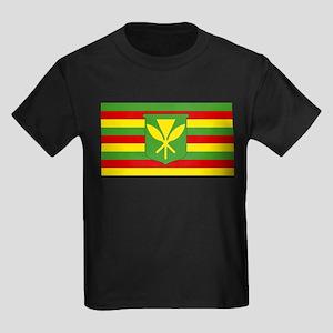 Kanaka Maoli Flag - Hawaiian Independence T-Shirt