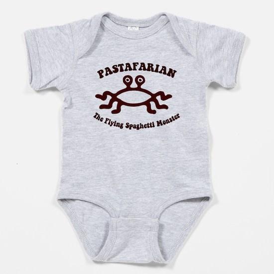 Flying Spaghetti Monster Baby Bodysuit
