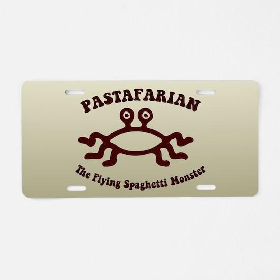 Flying Spaghetti Monster Aluminum License Plate