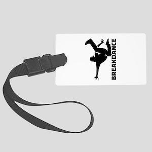 Breakdance Large Luggage Tag