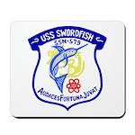 USS Swordfish (SSN 579) Mousepad