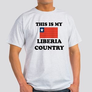 This Is My Liberia Country Light T-Shirt
