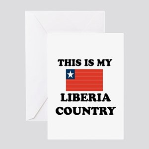 This Is My Liberia Country Greeting Card