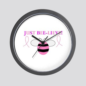 JUST BEE-LIEVE! Wall Clock
