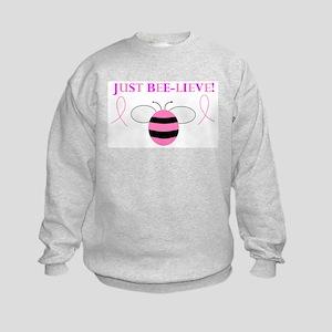 JUST BEE-LIEVE! Kids Sweatshirt