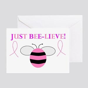JUST BEE-LIEVE! Greeting Card