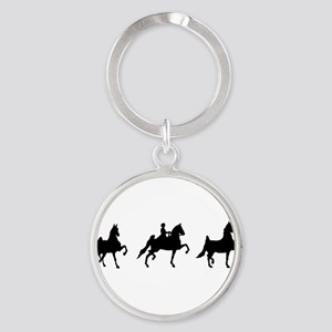 a bumper asb horses Keychains