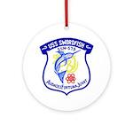 USS Swordfish (SSN 579) Ornament (Round)