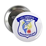 """USS Swordfish (SSN 579) 2.25"""" Button (10 pack)"""