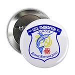 """USS Swordfish (SSN 579) 2.25"""" Button (100 pack)"""