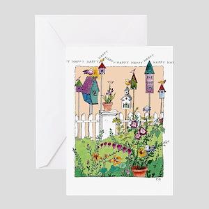 Cynthia Bainton Birthday Cards Pk Of 10 Garden