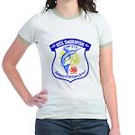 USS Swordfish (SSN 579) Jr. Ringer T-Shirt