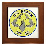 USS Requin (SSR 481) Framed Tile