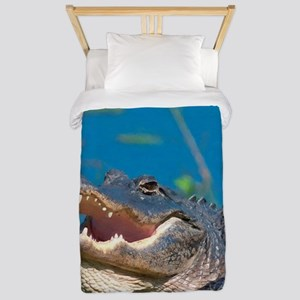 Swamp Alligator Everglades Twin Duvet
