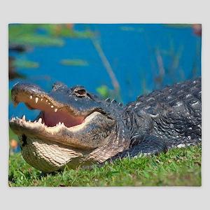 Swamp Alligator Everglades King Duvet