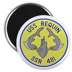 "USS Requin (SSR 481) 2.25"" Magnet (10 pack)"
