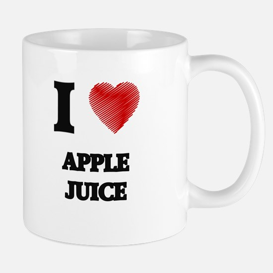 I Love Apple Juice Mugs