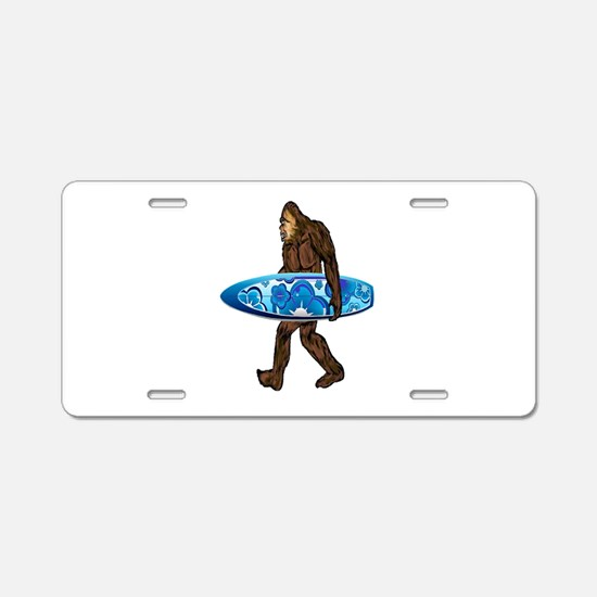 SOUL TO SURF Aluminum License Plate