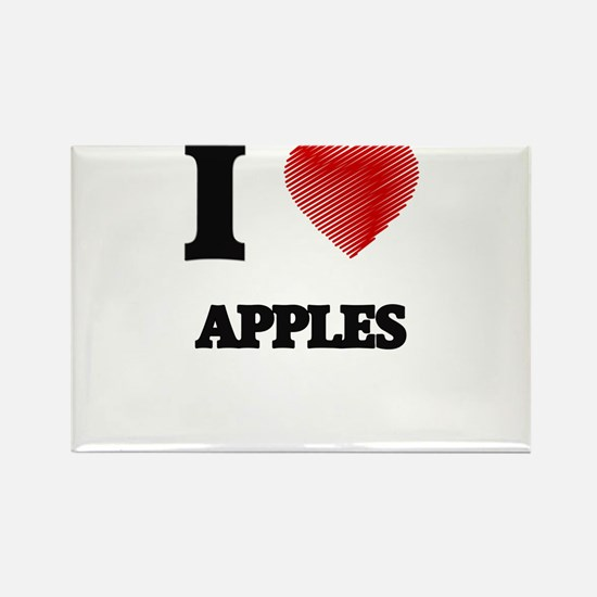 I Love Apples Magnets