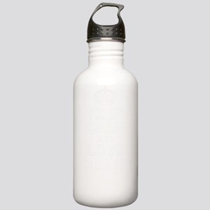 Keep Calm and Love CUL Stainless Water Bottle 1.0L