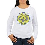 USS Requin (SSR 481) Women's Long Sleeve T-Shirt