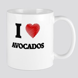 I Love Avocados Mugs