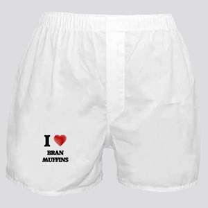 I Love Bran Muffins Boxer Shorts