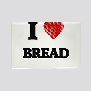 I Love Bread Magnets