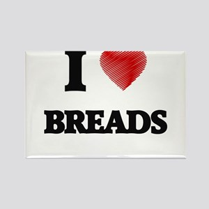 I Love Breads Magnets