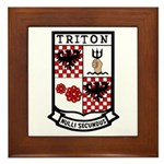 USS Triton (SSRN 586) Framed Tile