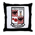 USS Triton (SSRN 586) Throw Pillow