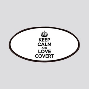 Keep Calm and Love COVERT Patch