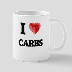 I Love Carbs Mugs