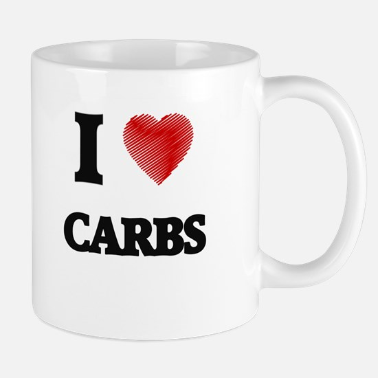 I Love Carbs Mugs