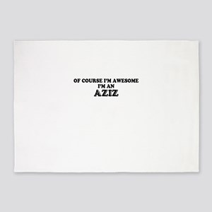 Of course I'm Awesome, Im AZIZ 5'x7'Area Rug