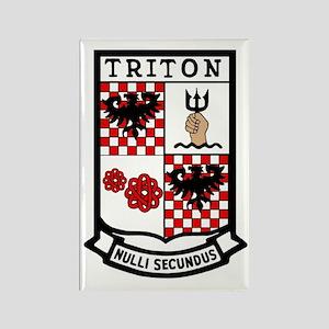 USS Triton (SSRN 586) Rectangle Magnet