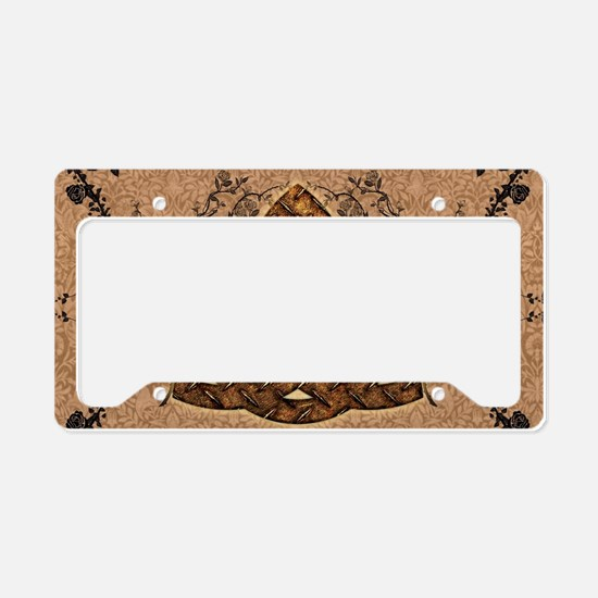 The celtic sign License Plate Holder