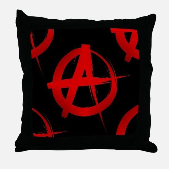 Cute Punk Throw Pillow