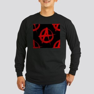 anarchy sign Long Sleeve T-Shirt